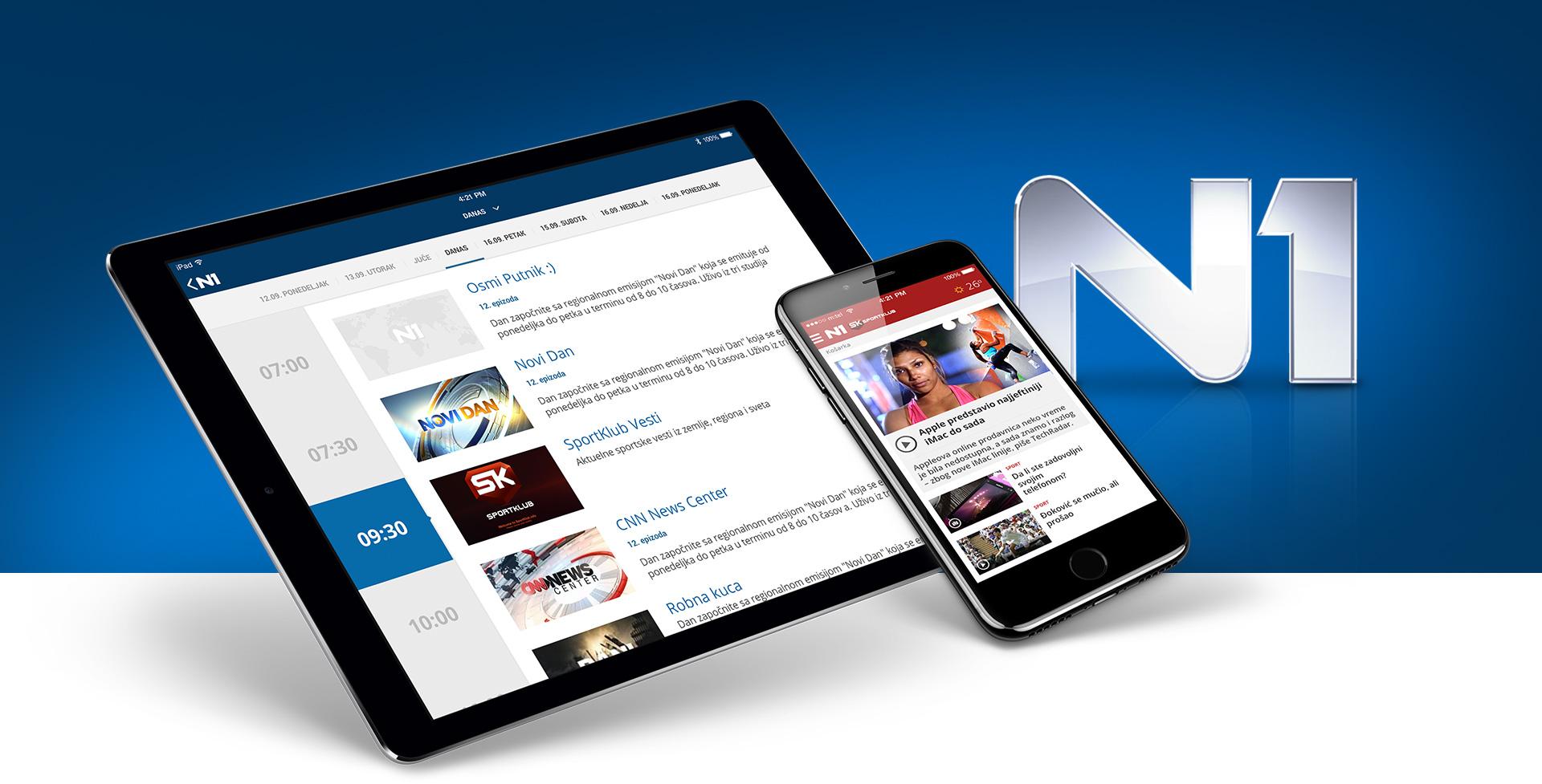 N1 portal mobile preview